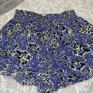 Purple, flowy urban outfitters shorts